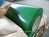 Tôle d'acier en acier galvanisée enduite d'une première couche de peinture de bobine PPGI