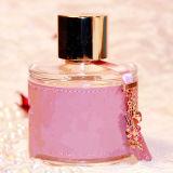 Duftstoff für Dame gute Qualität mit rosafarbenem Glaskristall und wundervollem Geruch