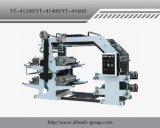 비 길쌈된 직물 Flexographic 인쇄 기계