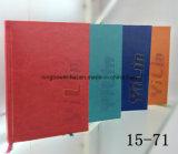 Тетрадь дневника PU популярного изготовленный на заказ логоса 2017 кожаный от изготовлений