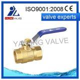 Poignée en acier soudée de robinet à tournant sphérique (YL212)