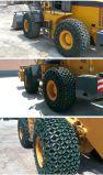 Encadenamientos de la protección del neumático para los encadenamientos del cargador de la rueda del cargador de la fábrica