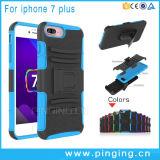 Het Geval van de Klem van de Riem van het holster voor iPhone 7 plus met Kickstand