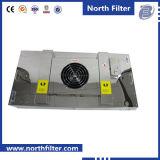 Unidad de filtro de panel ventilador para limpieza de aire