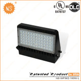 UL Dlc는 IP65 옥외 150W LED 벽 팩 램프를 목록으로 만들었다