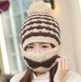 Máscara Moda Barba Handmade Knitting punto Hat