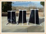 Schwarze zurückführbare Plastikabfall-Sack-Abfall-Beutel-Sortierfach-Zwischenlage kann Zwischenlage-Nahrungsmittelabfall-Beutel-Abfall-Beutel