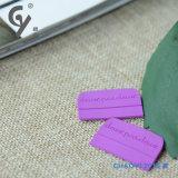 Accessori di gomma arancioni dell'indumento del contrassegno dell'indumento di alta qualità su ordinazione