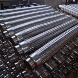 ステンレス鋼の適用範囲が広い環状のホースを編むワイヤー