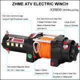 Treuil électrique de vitesse rapide d'ATV/UTV avec la ligne évaluée par 3500 traction