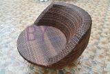 Vector y silla al aire libre caseros creativos al aire libre de la rota del PE del ocio del hotel del café del balcón