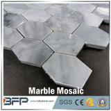 Мозаика мрамора шестиугольника строительного материала для плитки пола