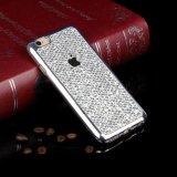 Diamant Bling TPU weich rückseitiger Fall für Handy