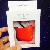 Caja Anti-Perdida a prueba de choques del silicón de la piel de la cubierta protectora para Apple Airpods