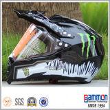 도로 기관자전차 헬멧 (CR401) 떨어져 차가운 직업적인 광택이 없는 검정