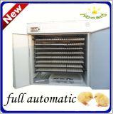 Incubateur complètement automatique de poulet d'oeufs de Hhd 2000 à vendre