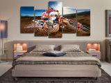 HDはキャンバス部屋の装飾プリントポスター映像のキャンバスMc069でモトクロスの絵画を印刷した