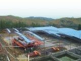 Estructura de acero para la fábrica y el almacén