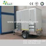 Toalete público do reboque móvel pré-fabricado de dois quartos (XYT-01)