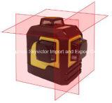 Nivelamento de 3 níveis e nível de laser de alinhamento de 360 graus (SW-93T)