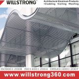 O cliente projetou o painel de parede composto de alumínio para o interior e o exterior