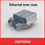 Приемник RJ45 Ang передатчика Poc&Eoc для того чтобы задобрить IP конвертера над Coax разбивателем на Ipcam 300m (1000FT)