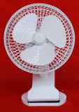 2 dans 1 mini ventilateur promotionnel électrique de ventilateur électrique de bureau d'agrafe (HGC-3)