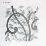 Mosaïque en verre grise mélangée Shaped de Crytal d'art de tuile de mosaïque d'arbre