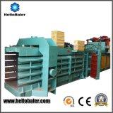 Hola Baler hidráulico Chatarra enfardar máquina de papel con Transportadores