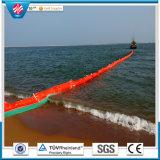 Boom de óleo de PVC de flutuação sólida anti-poluição