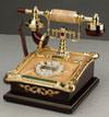 Telefono antico - secolo T01091 barrocco