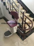 Elevador de escada curvilíneo