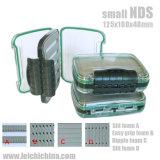Caixa de pesca com mosca de plástico impermeável com espuma de fácil aderência NDS