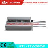 PWM 기능 (HTL Serires)를 가진 12V200W 알루미늄 방수 LED 운전사