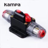 Sostenedor audio del fusible del interruptor de restauración manual del corta-circuito 100/80-AMP del coche