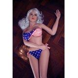 Человек силикона куклы крупного плана реальной жизни секса американской куклы латекса девушки реальный сексуальный