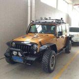 ABS van Lantsun J094 de Zwarte Uitrusting van de Gloed van het Stootkussen met het Licht van de Richtingaanwijzer voor Jeep Wrangler Jk 4 Deur 07+