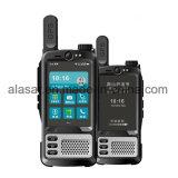Colocación auxiliar del GPS del racimo de la red pública del soporte de los datos móviles de la policía