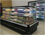 Витрина большой емкости супермаркета коммерчески Refrigerated