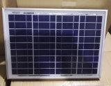 Einen hohen 15W 20W ordnen Polysilikon-Sonnenkollektor der Qualitäts