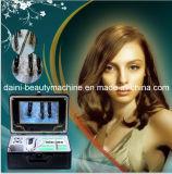 9 pouces de couleur de peau de détecteur de cheveu de l'épicrâne HD d'analyseur de peau du visage, graisseux, acné, eau, et coiffure entièrement testée