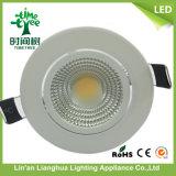 7W la PANNOCCHIA rotonda LED giù si illumina