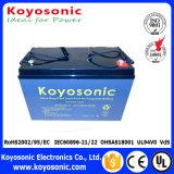 batterie solaire de cellule sèche de batterie de 12V 100ah Mf la plupart de batterie solaire puissante