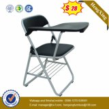 Plastiksitzungs-Stuhl/Ineinander greifen-Besucher-Arm-Stuhl mit Rad (HX-V011)