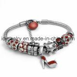 Form-Schmucksache-Decklack-rotes Geschenk-Armband mit Hummer
