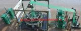 機械回状の織機を作る4シャトルの網袋