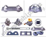 Geschmiedeter Stahlbehälter-halb automatischer Torsion-Verschluss