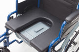 Commode, Foldable, cadeira de rodas, peças destacáveis (YJ-016B)