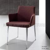 o pé de jantar de couro preto moderno o mais atrasado do aço inoxidável da cadeira (NK-DCA050)