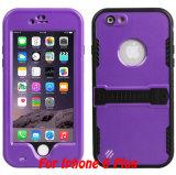 Cas de couverture arrière de l'eau/saleté/antichoc de téléphone mobile de cadeau de promotion pour iPhone6s plus le cas (RPDOT6SP)